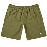 Fred Perry Authentic Technical Swim Short Green