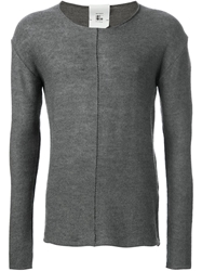 Lost And Found Rooms Knit Sweater Grey