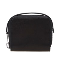 Rick Owens Leather Zip Wallet Black