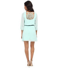 Gabriella Rocha Sunday Belted Dress Mint Women's Dress Green
