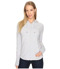The North Face Ez Hoodie Tnf Light Grey Heather Women's Sweatshirt Gray