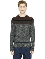 Kolor Wool And Mohair Sweater