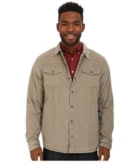 Prana Gomez Corduroy Jacket Dark Khaki Men's Coat
