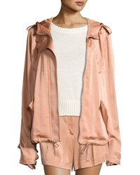 A.L.C. Theo Sateen Utility Jacket Pink