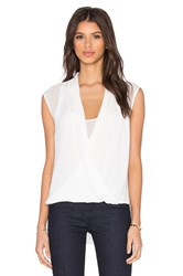 Bcbgmaxazria Remy Top White