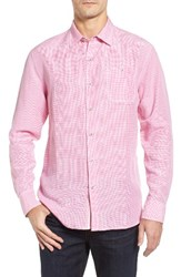 Tommy Bahama Men's Big And Tall Sand Linen Island Modern Fit Sport Shirt French Rose