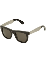Retro Super Future 'Ciccio Francis Saldatura' Sunglasses Black