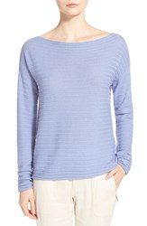 Women's Vince Ribbed Boatneck Cashmere Sweater