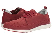 Superfeet Crane Biking Red Men's Lace Up Casual Shoes