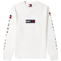 Tommy Jeans 6.0 'S Long Sleeve Outdoors Tee W21 White