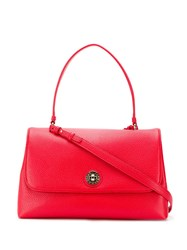 Emporio Armani Top Handle Mini Bag Red
