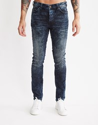 Only And Sons Mens 5 Pocket Slim Jeans Blue