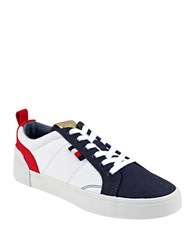 Tommy Hilfiger Priss Lace Up Sneakers Dark Blue