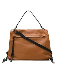 Mara Mac Leather Bag Brown