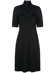 Dorothee Schumacher Fitted Colour Block Dress 60