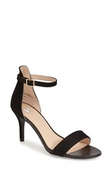 Women's Bp. 'Luminate' Open Toe Dress Sandal Black Suede