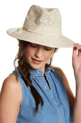 Vince Camuto Panama Hat White