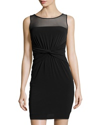 Laundry By Shelli Segal Matte Jersey Knit Dress Black