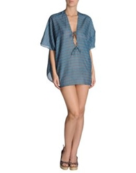 Marzia Genesi Sea Cover Ups Slate Blue