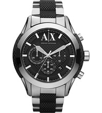 Armani Exchange Ax1214 Stainless Steel Watch Black