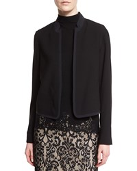 Elie Tahari Sami Notched Collar Jacket Black