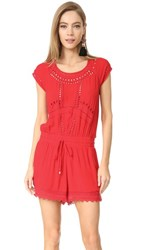 Ella Moss Broderie Anglaise Romper Tigerlilly