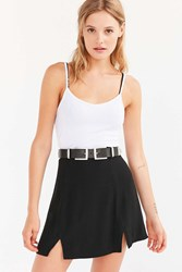 Urban Outfitters Amos Double Buckle Belt Black