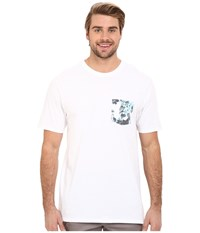 Hurley Floral Pocket Tee White Men's T Shirt