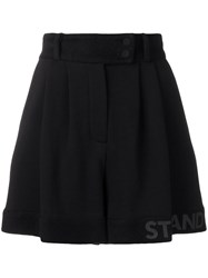 Styland High Waisted Shorts Black