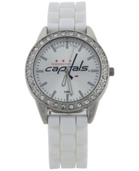 Game Time Women's Washington Capitals Frost Watch White
