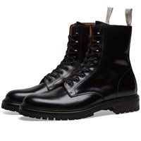 Common Projects Lug Sole Combat Boot Black
