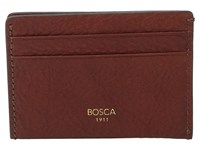 Bosca Washed Collection Weekend Wallet Coganc Wallet Handbags Brown