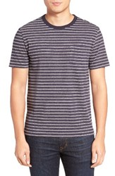 Jack Spade Men's Stripe Pocket T Shirt