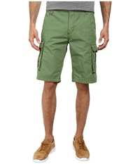 Buffalo David Bitton Hamburger Ripstop Cargo Short Trail Combo Men's Shorts Navy