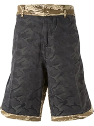 Golden Goose Deluxe Brand Camouflage Print Shorts