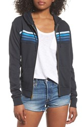 Aviator Nation 5 Stripe Zip Hoodie Charb