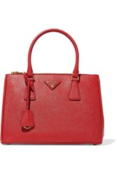 Prada Galleria Medium Textured Leather Tote One Size