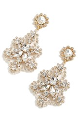 J.Crew Crystal Statement Earrings