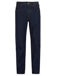 Calvin Klein 205W39nyc Embroidered High Rise Jeans Blue