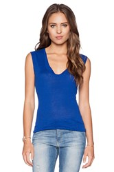 Joe's Jeans Muscle Tank Royal