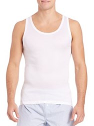 Hanro Cotton Pure Tank Top White