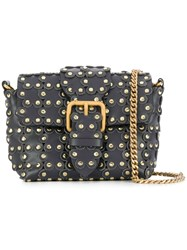 Red Valentino Flower Puzzle Bag Grey