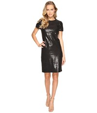 Rsvp Portland Studded Sequin Dress Black Women's Dress
