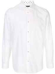 Loveless Pointed Collar Shirt White