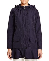 Moncler Chevaine Raincoat Navy