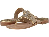 Jack Rogers Sparkle Gold Women's Sandals