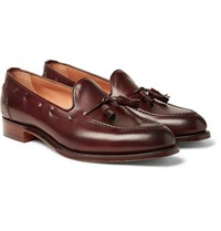 Hugo Suede Penny Loafers - BrownCheaney LHZvxs