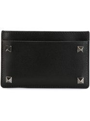 Valentino Garavani 'Rockstud' Card Holder Black