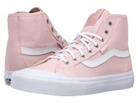 Vans Black Ball Hi Sf Dusty Rose True White Women's Lace Up Casual Shoes Pink