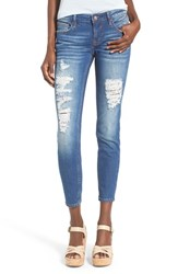 Women's Vigoss Distressed Crop Skinny Jeans